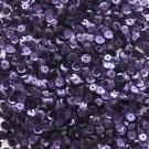 5mm Cup SEQUIN FACET PAILLETTES ~ DEEP PURPLE Metallic ~ Made in USA