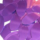 "Oval Sequin 1.5"" Light Purple Metallic"