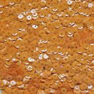 6mm Cup Sequins Golden Orange Opaque. Made in USA