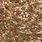 5mm Cup Sequins Gold Rainbow Iris Shiny Metallic. Made in USA