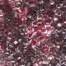 6mm Cup Sequins Cocoa Brown Transparent See-Thru. Made in USA