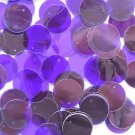 20mm Sequins Purple Plum Transparent See-Thru. Made in USA
