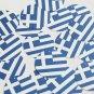 "Round Sequin 1.5"" Greek Flag Greece Blue White Opaque"