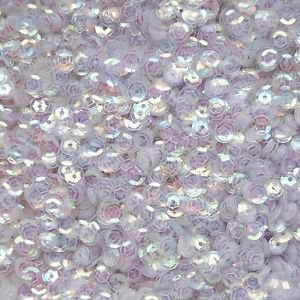 5mm Cup Sequins Aurora Mirror Super Shiny Crystal Rainbow Iris Iridescent. Made