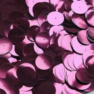 20mm Sequins Center Hole Red Wine Burgundy Metallic. Made in USA