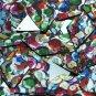 "Long Diamond Sequin 1.75"" Multicolor Sequined Mix Pattern Metallic"