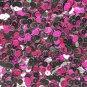 6mm Sequins Black / Fuchsia Pink Metallic. Made in USA