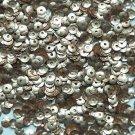 4mm Cup SEQUIN FACET PAILLETTES ~ Rose Gold Matte Silk Frost Metallic