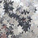 Silver Star Sequin Paillettes 15mm Metallic Embellishment Costume Craft