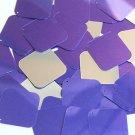 Purple Silver Metallic Sequin Square Diamond 1.5 inch Couture Paillettes