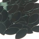 Forest Green Metallic Navette Leaf Sequins 1.5 inch Couture Paillettes