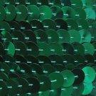 Sequin Trim 10mm Iron On Green Metallic. Made in USA