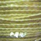 Sequin Trim 10mm Iron On Yellow Transparent See-Thru. Made in USA