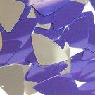 Purple Silver Metallic Fishscale Fin 1.5 inch Couture Sequin Paillettes