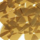 Caramel Gold Transparent Fishscale Fin 1.5 inch Couture Sequin Paillettes