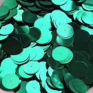 20mm Sequins Center Hole Green Metallic. Made in USA
