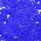 6mm Flat Loose Sequin Paillette Royal Blue Opaque Glossy Made in USA