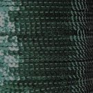 Sequin Stitched Trim 4mm ~ Forest Green Shiny Metallic ~ Made in USA