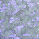 6mm Flat Loose Sequin Paillette Violet Purple Crystal Luminescent Moonbeam