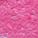 4mm Flat SEQUIN PAILLETTES Loose ~ Neon Bright Pink Opaque~ Made in USA