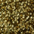 4mm Cup SEQUIN FACET PAILLETTES ~ GOLD Metallic ~ Made in USA
