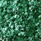 5mm Cup SEQUIN FACET PAILLETTES ~ TEAL PEACOCK Metallic ~ Made in USA