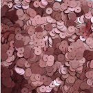 6mm Flat SEQUIN PAILLETTES ~ PINK Matte SILK FROST ~ Round Disc ~ Made in USA