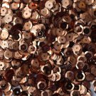6mm Cup SEQUIN FACET PAILLETTES ~ COPPER Metallic Premium ~ Made in USA