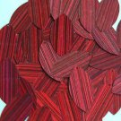 Red Wine Navette Leaf Sequins 1.5 inch City Lights Reflective Couture Paillettes