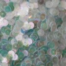 6mm Flat SEQUIN PAILLETTES ~ CRYSTAL IRIS RAINBOW cool hue ~ Made in USA