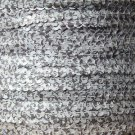 Sequin Stitched Trim 4mm ~ White Houndstooth Print ~ By the yard. Made in USA
