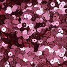 5mm Flat SEQUIN PAILLETTES ~ Hot Rich Pink Metallic ~ Round Disc ~ Made in USA.