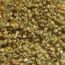 Cup Sequin 6mm Loose Metallic Gold Laser Hologram Reflective Rainbow Made in USA