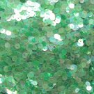 6mm Sequins Green Crystal Rainbow Iris Iridescent. Made in USA