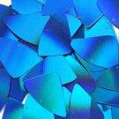 "Blue Lazersheen Reflective Fishscale Fin 1.5"" Couture Sequin Paillettes"