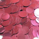 20mm Sequins Red Wine Burgundy Metallic. Made in USA