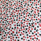 """Round Sequin 2"""" Playing Card Clubs Hearts Spades Diamonds White Opaque Paillette"""