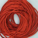 Copper Burnt Orange Satin Rattail Cord Made in the USA 10 yard pack