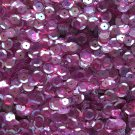 8mm Cup Sequins Facet Paillette ~ Amethyst Crystal Rainbow Iris ~ Made in USA