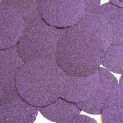 Round Sequin 40mm Deep Purple Metallic Sparkle Glitter Texture Couture Paillette