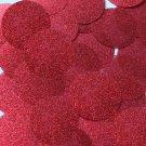 Round Sequin 40mm Dark Red Metallic Sparkle Glitter Texture Couture Paillettes