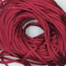 Garnet Red Satin Rattail Cord Made in the USA 10 yard pack