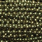 Green Pearl Beads 4mm Molded on Thread Fused to string 120 inches (10')