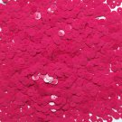 6mm Flat Loose Sequin Paillette Fuchsia Pink Opaque Glossy Made in USA