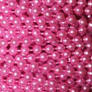 Orchid Pink Pearl Beads 2.5mm Molded on Thread Fused to string 120 inches (10')