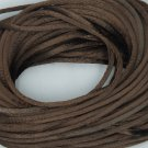 Brown Chocolate Satin Rattail Cord Made in the USA 10 yard pack