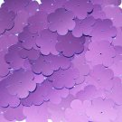"Sequin Flower 1"" / 25mm Violet Purple Metallic. Made in USA"