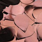 "Bronze Brown Shiny Metallic Sequins Teardrop 1.5"" Large Couture Paillettes"