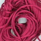 Raspberry Pink Satin Rattail Cord Made in the USA 10 yard pack