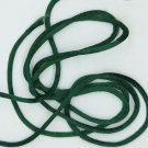 Dark Green Satin Rattail Cord Made in the USA 10 yard pack